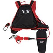 FELCO 801 σετ ψαλίδι κλαδέματος μπαταρίας με power pack εξάρτηση(FELCO 880)
