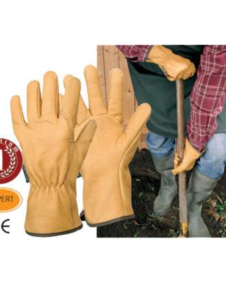 γάντια κήπου δερμάτινα EPS28A - ROSTAING