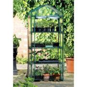 Το θερμοκήπιο 4 Tier Greehouse της Botanico είναι ιδανικό για τα φυτά που καλλιεργούνται σε γλάστρες και για τα σπορεία των λαχανικών σας.Το πράσινο σπίτι θα προστατέψει τα αγαπημένα σας φυτά από τις έντονες καιρικές συνθήκες (κρύο, έντονες βροχές, παγετός). Διαθέτει 4 επίπεδα και διπλό φερμουάρ στο μπροστινό μέρος για εύκολη πρόσβαση.Το θερμοκήπιο 4 Tier Greehouse αποτελείται από μεταλλικό σκελετό με πλαστικές ενώσεις για εύκολη συναρμολόγηση και αποθήκευση. Διαστάσεις: 59×45×145εκ.(ΜxΠxΥ)