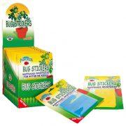BUG STICKERS - μπλε καρτέλες - παγίδες κόλλας- 6 τεμάχια