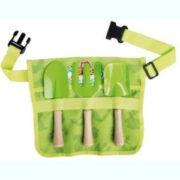 παιδική ζώνη κηπουρικής με εργαλεία
