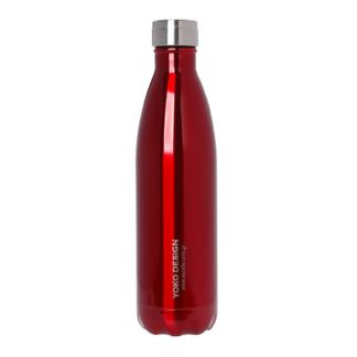 ανοξείδωτο θερμός Ecolife Family Red – YOKO DESIGN (Limited edition) – 750ml