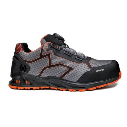 παπούτσια ασφαλείας K-JUMB S1P HRO SRC μαύρο/γκρι/πορτοκαλί, BASE - Νο41-46