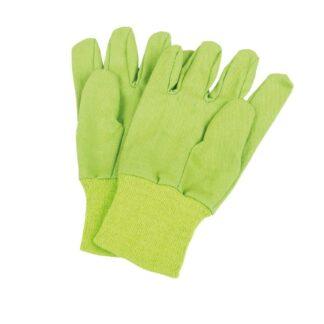 βαμβακερά, παιδικά γάντια κηπουρικής (3+)