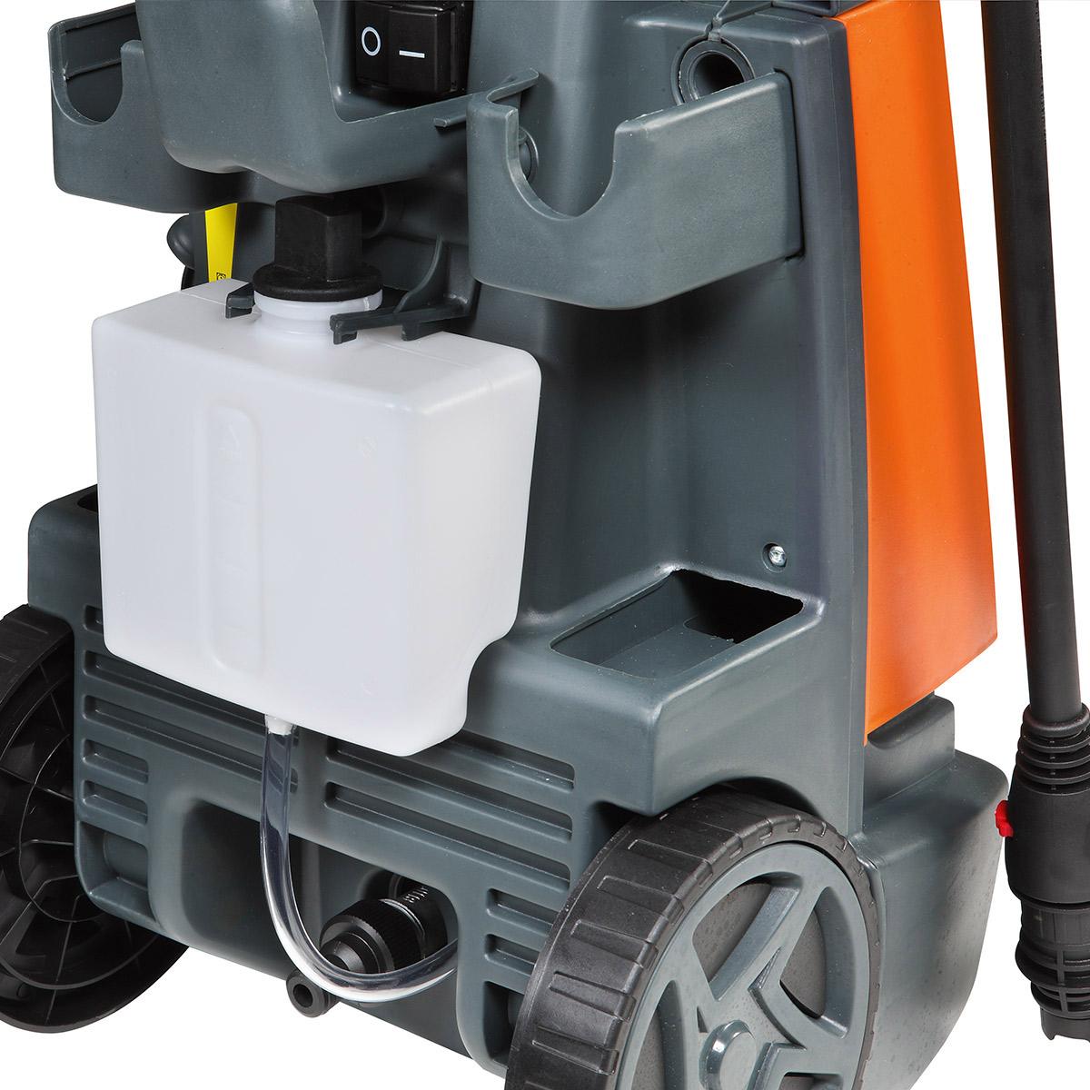 πλυστικό μηχάνημα υψηλής πίεσης Oleo-Mac PW115C - 125bar - 1750Watt