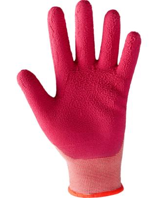 παιδικά γάντια κήπου Shabu Kids - ροζ- μέγεθος 5