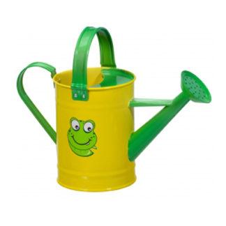παιδικό μεταλλικό ποτιστήρι - κίτρινο-πράσινο - 4916