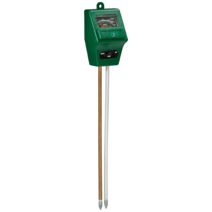 Combi soil tester - δοκιμαστής εδάφους 3 σε 1 (υγρασία-pH-φως)