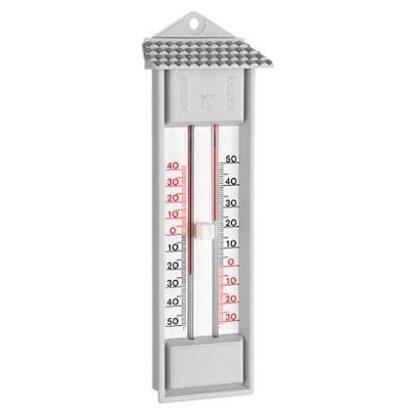 αναλογικό θερμόμετρο μέγιστης-ελάχιστης θερμοκρασίας (MIN-MAX - θερμοκηπίου) χωρίς υδράργυρο