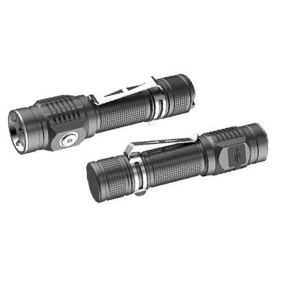 αδιάβροχος φακός επαναφορτιζόμενος 1500Lm- XPG LED - BPR6035