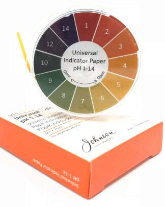 πεχαμετρικό χαρτί σε ταινία για μέτρηση του pH